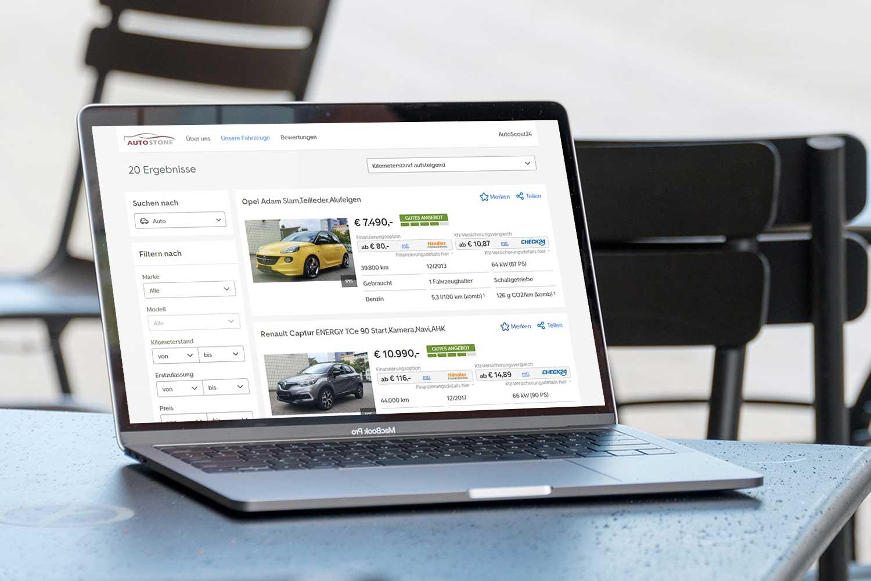 Autostone.de - Autoscout.de Fahrzeugbestand von Gebrauchtfahrzeugen